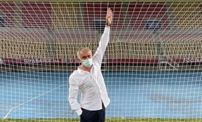 """""""Ik dacht dat ik gegroeid was"""": José Mourinho laat doelen vervangen vlak voor Europese uitmatch"""