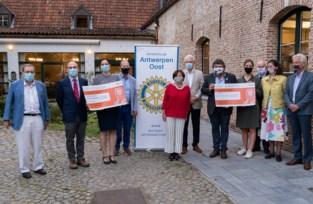 Rotary Clubs helpen Antwerps <BR />MS- en Parkinsononderzoek vooruit