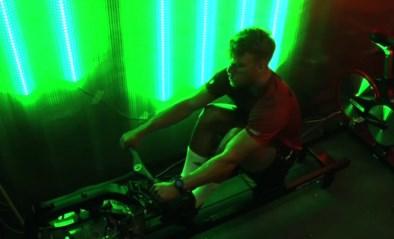 Belgische wereldkampioen indoorroeien verpulvert toptijd van Mathieu van der Poel in De container cup