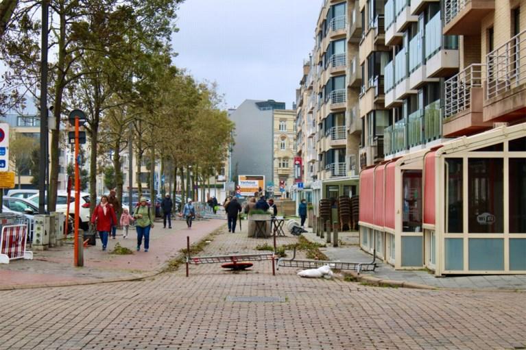 Veel schade in Blankenberge na storm Odette: ponton losgeraakt, balkons afgebroken
