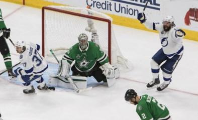 Tampa Bay staat op één zege van eindwinst in Stanley Cup