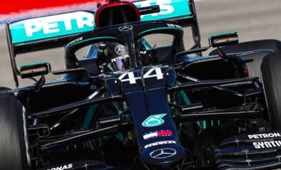 Lewis Hamilton voor het eerst de snelste in Rusland