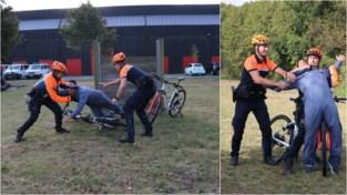 Een achtervolging in de winkelstraat of in een achtertuin, niets is te gek voor agenten op de fiets: zo gaat het eraan toe bij het fietsteam van de lokale politie