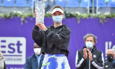 Elina Svitolina boekt in Straatsburg tweede toernooizege van het seizoen
