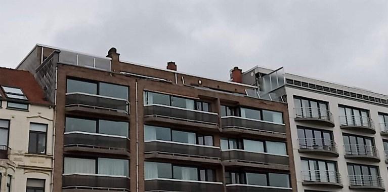 Storm Odette houdt lelijk huis in Oostende