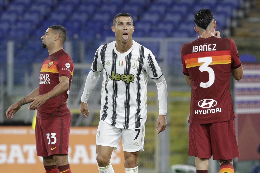 Juventus speelt met man minder gelijk tegen Roma dankzij onv... - Het  Nieuwsblad Mobile