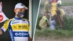 """Profrenner Edward Planckaert van de weg gemaaid tijdens training: """"Die chauffeur liet hem gewoon in de gracht liggen"""""""