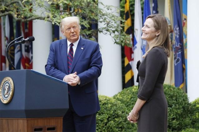 Trump draagt Amy Coney Barrett voor als nieuwe opperrechter