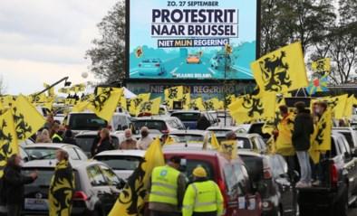 Vlaams Belang organiseert 'protestrit' tegen Vivaldi-regering: 5.000 auto's verzamelen in Brussel