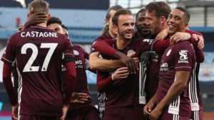 Goal Tielemans, assist Castagne en hattrick Vardy: Leicester City veegt de vloer aan met Manchester City