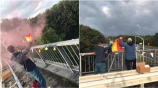 Vlaamse protestrit krijgt hier en daar Belgische tegenkanting