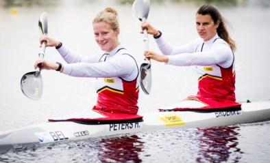 Hermien Peters en Lize Broekx op minder dan vier tienden van één seconde van hun tweede gouden medaille