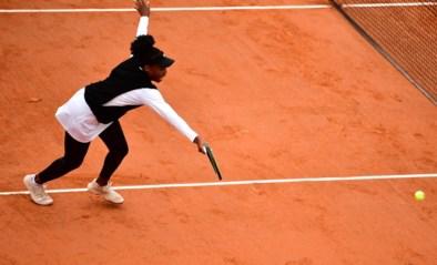 Venus Williams meteen uitgeschakeld op Roland-Garros