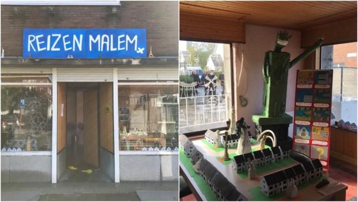 Corona of niet, de kinderen uit Malem zijn deze zomer 'op reis' geweest en hebben er een expo over gemaakt