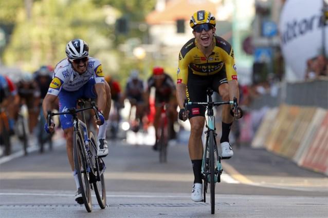 ONZE STERREN. Niet Wout van Aert, maar Julian Alaphilippe is dé te kloppen man op WK wielrennen in Imola