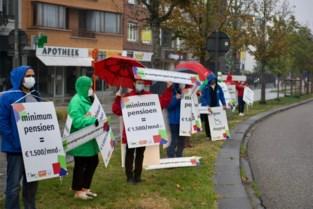 Drie grote vakbonden voeren actie langs vijf kruispunten in Hasselt en Genk