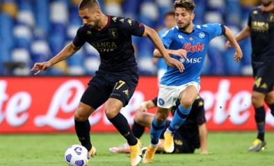 Eén dag na match tegen Napoli van Dries Mertens blijkt dat 14 spelers en stafleden van Genoa corona hebben
