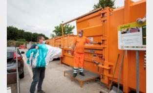 Een afspraak reserveren om containerpark bezoeken wordt het 'nieuwe normaal'