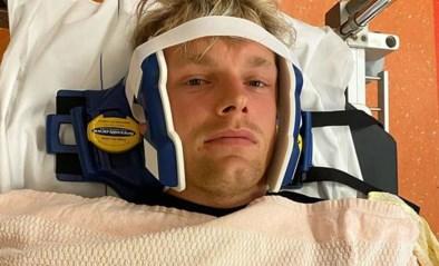 Enzo Knol in ziekenhuis na mislukte sprong van hoge duikplank