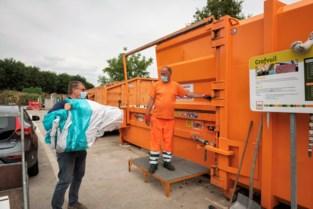 Recyclagepark op afspraak wordt het nieuwe normaal