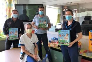 Vzw Voor Kinderen maakt jonge patiëntjes Sint-Andriesziekenhuis blij