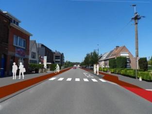 'Moordstrookjes' weg op drukke steenweg in Wondelgem, maar eerst 50 onteigeningen nodig