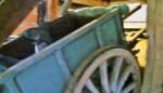 Oude boerenkar zoekt stal