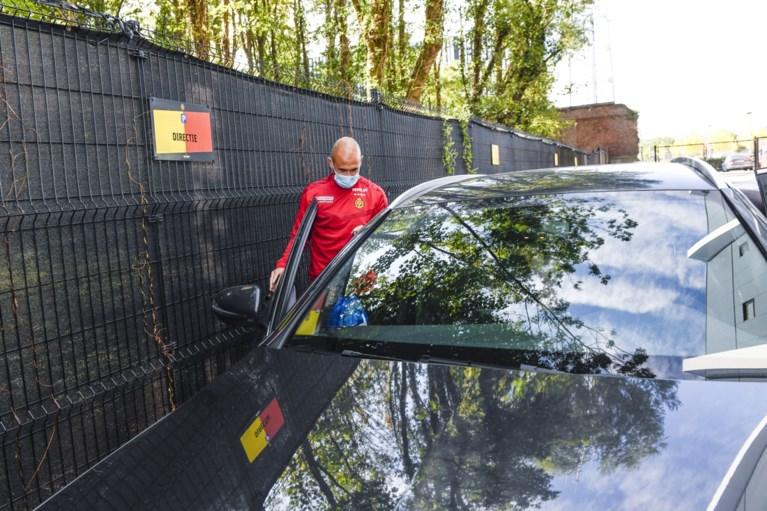 Steven Defour arrived at KV Mechelen but is not training today