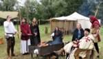 Tempeliers slaan hun kamp op in Heirweg
