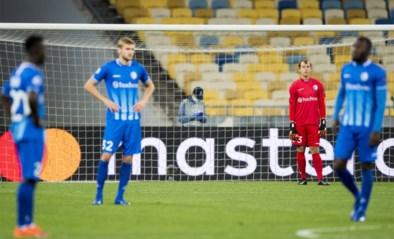 Geen Champions League voor AA Gent: zwakke Buffalo's met de billen bloot in Kiev