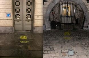 TAK schildert leeuwen bij CD&V-burgemeesters