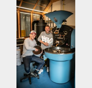 """Kleine koffiebranderij Andy opent in Blikfabriek: """"Koffie is kunst"""""""