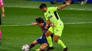 Invaller Yannick Carrasco kan eerste puntenverlies Atlético Madrid niet vermijden