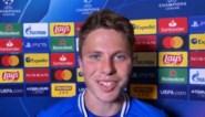 AA Gent verloor met 3-0, maar toch stapte één speler met een brede glimlach van het veld
