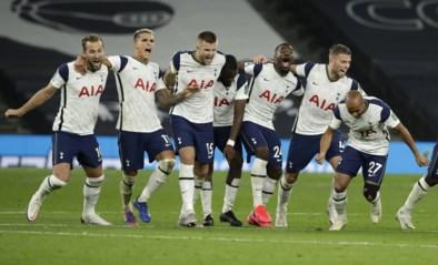 Tottenham klopt Chelsea na penalty's, Mourinho loopt tijdens de match vluchtende Dier achterna