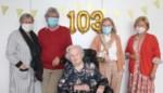 Marie Dewolf mag 103 kaarsjes uitblazen