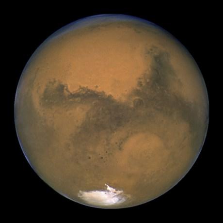 Ondergrondse meren ontdekt op Mars