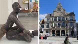 """Stadsschouwburg zet beeldhouwwerk van verkrachting in inkomhal: """"Gruwel moet je tonen"""""""