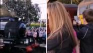 Trein verpest uniek moment voor Harry Potter-fans die al uren staan te wachten