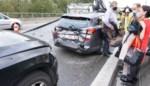 Automobiliste (32) gewond bij kop-staartbotsing op R8