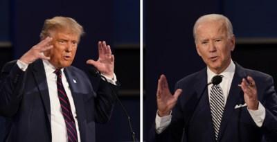 """Donald Trump of Joe Biden: wie scoort in de peilingen na """"de dag dat de Amerikaanse democratie het absolute dieptepunt bereikte""""?"""