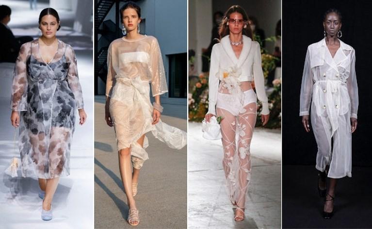 Poppen op de catwalk en zichtbare beha's: dit zijn de hoogtepunten van de modeweek in Milaan