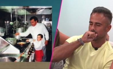 """Jeugdfoto met overleden papa raakt Giuliano van Love Island: """"Ik mis hem nog elke dag"""""""