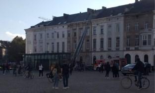 Potje van student kookt over: brandweer rukt massaal uit naar Sint-Pietersplein