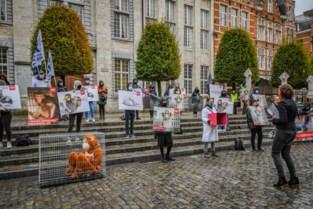 Opnieuw protest tegen proeven op apen door de KU Leuven