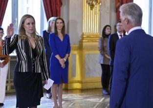 """Gezin van nieuwe staatssecretaris blinkt van trots: """"We gunnen haar zo'n grote kans, dus het maakt niet veel uit dat ze dan minder thuis is"""""""