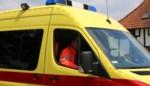 Twee gewonden na kop-staartaanrijding