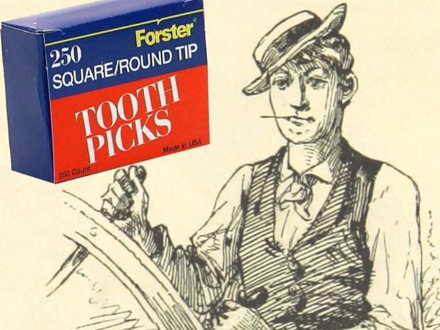 De uitvinding die eigenlijk al 1,8 miljoen jaar bestond: niemand zat te wachten op de tandenstoker, tot Charles Forster daar anders over besliste