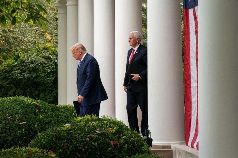 'Contact tracing' voor de president: met hen kwam Donald Trump de voorbije dagen allemaal in contact