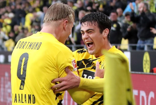 Borussia Dortmund zet Freiburg makkelijk opzij dankzij jonge sterkhouders Haaland en Reyna